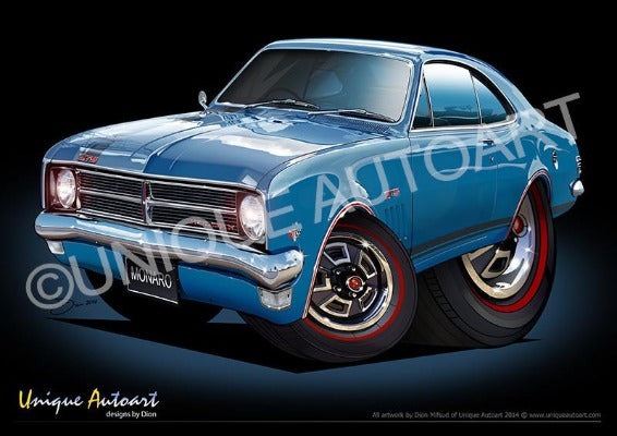HK MONARO ARTWORK