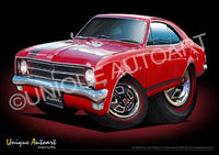 HK Monaro - Picardy Red