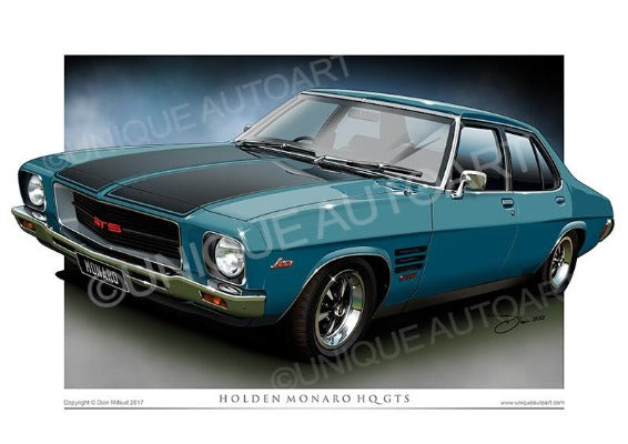 HQ Monaro- Aquamarine Metallic