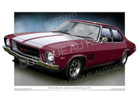 HQ Monaro- Burgundy