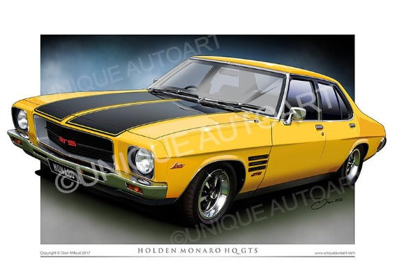 HQ Monaro- Chrome Yellow