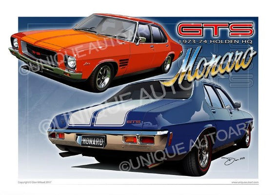 HQ GTS MONARO ARTWORK