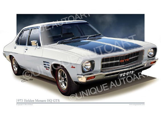 Holden Prints - GLACIER WHITE