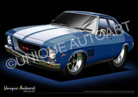 HQ Monaro- Cyan Metallic
