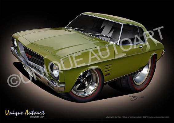 HQ HOLDEN MONARO- DUBLIN GREEN