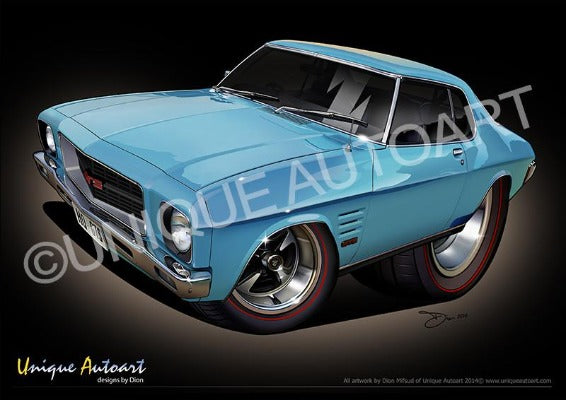 HQ HOLDEN MONARO- FROST BLUE