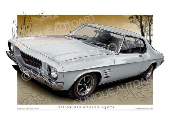 Holden HQ Monaro Coupe- Glacier White