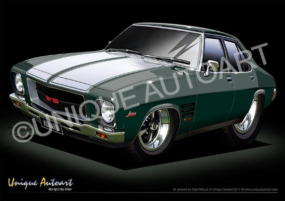 HQ Monaro- Juniper Metallic