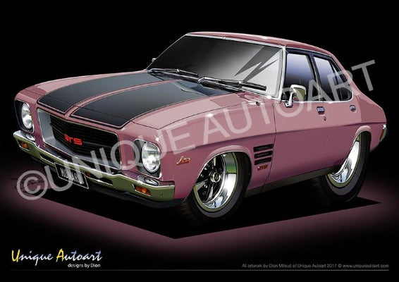 HQ Monaro- Orchid Metallic