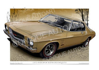 Holden HQ - Patina Gold