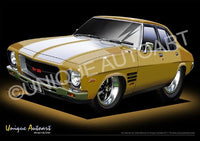 HQ Monaro- Sunburst Metallic
