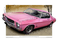 Holden GTS Coupe- Strike Me Pink