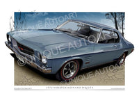 Holden Monaro Coupe- Zodiac Blue