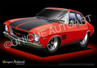 Holden HQ Monaro - Salamanca Red