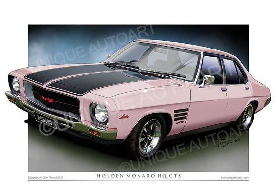 HQ Monaro- Rose
