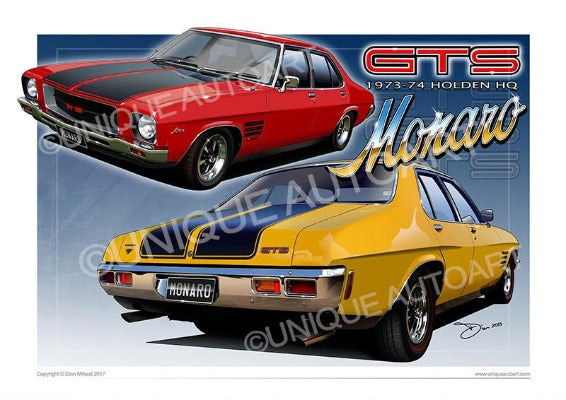 Holden Automotive Art PRINTS