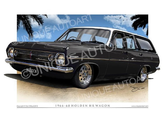 HR Wagon - Warrigal Black