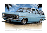 Holden HR Station Wagon Kurrewa Blue
