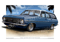 1966 HR WAGON - LURLINE BLUE