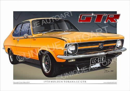 LC Torana GTR- Indy Orange