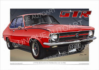 LC Torana GTR - Rally Red