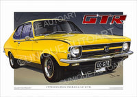 LC Torana GTR- Yellow Dolly