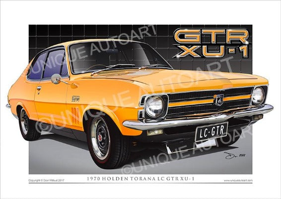 LC Torana- Indy Orange