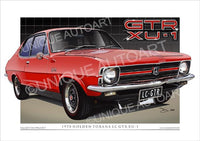 Holden LC Torana - Rally Red