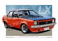 Holden LX Torana- Flamenco Red