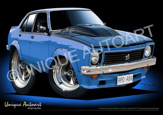 Torana Prints - ULTRA BLUE