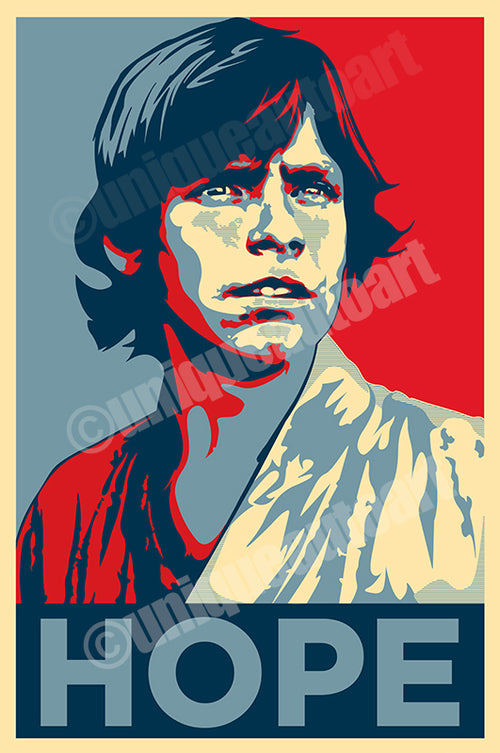 Luke Skywalker Print