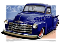 MARINER BLUE CHEVY TRUCK