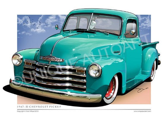 OCEAN GREEN CHEVY