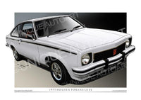 PALAS WHITE LX TORANA HATCH