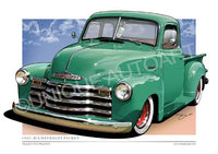 SEACREST GREEN CHEVROLET PICK UP