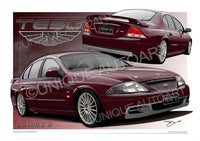 Ford TE50- Sparkling Burgundy