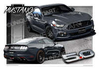 S550 Mustang Magnetic