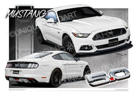 Mustang Oxford White