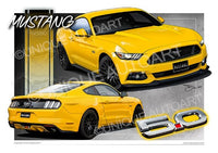 Mustang - Triple Yellow