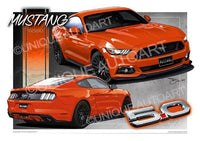 Mustang Competition Orange