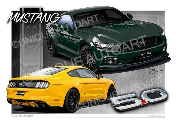 Mustang Coupe GT Guard