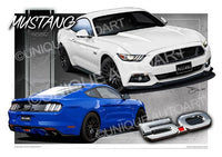Mustang Coupe GT Blue