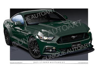 2015 MUSTANG DRAWINGS - GUARD