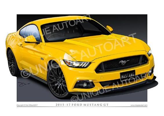 MUSTANG TRIPLE YELLOW