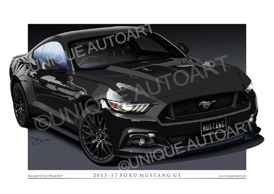 MUSTANG SHADOW BLACK