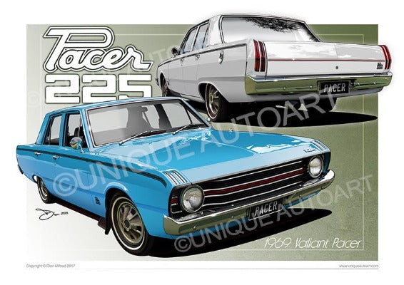 1969 Valiant Pacer - illustrations