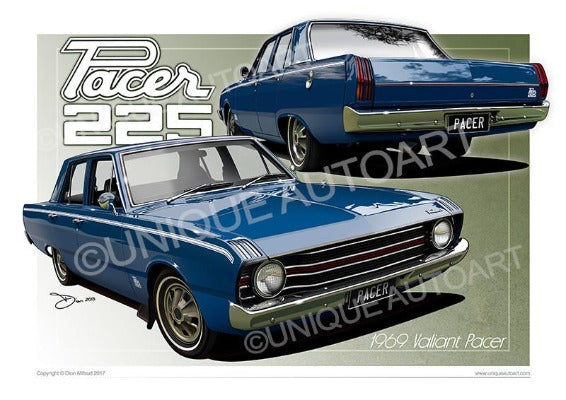 Valiant Pacer- Cosmic Blue