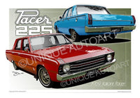 Valiant Pacer- Car Illustrations
