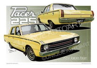 Valiant Pacer- Isis Yellow