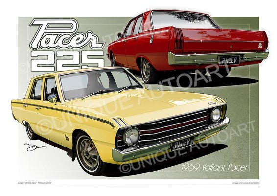 Valiant Pacer- Drawings